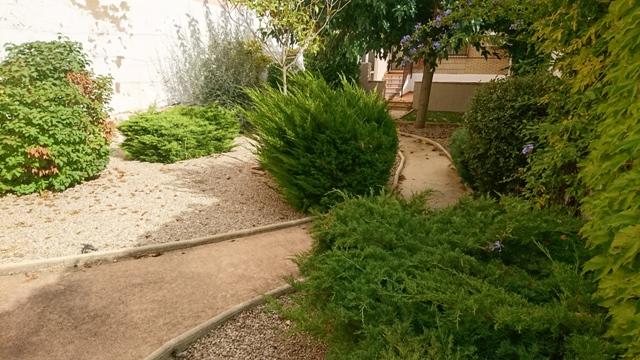 Casa con gran patio